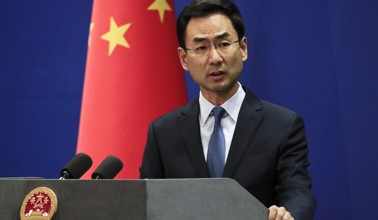 """Chinese Foreign Ministry spokesman Geng Shuang has accused the US of """"abusing its power to maliciously smear and beat down on certain Chinese companies"""". Photo: AP"""