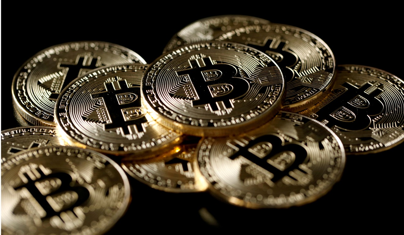 Bitcoin's value rose by 26.5 per cent in less than a fortnight, according to cryptocurrency exchange OKCoin. Photo: Reuters