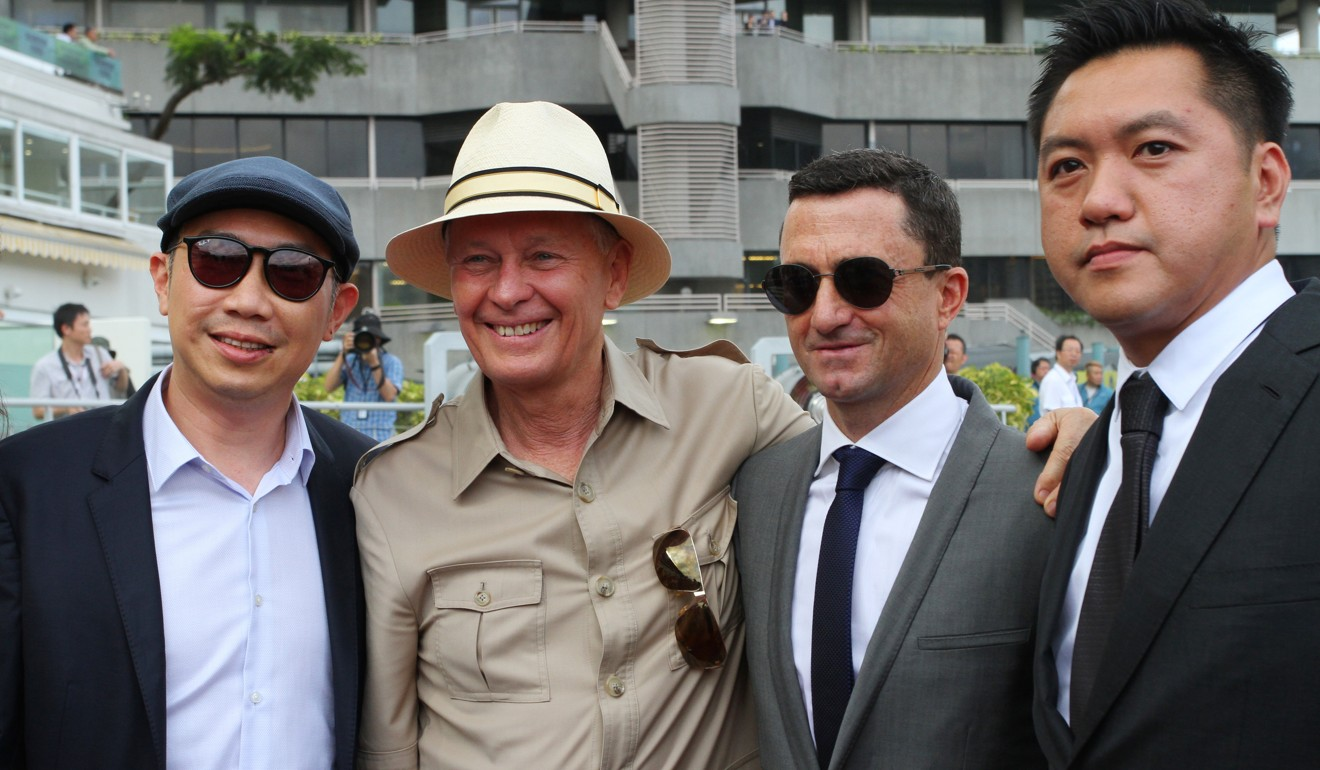 Douglas Whyte retires, becomes Hong Kong's newest trainer