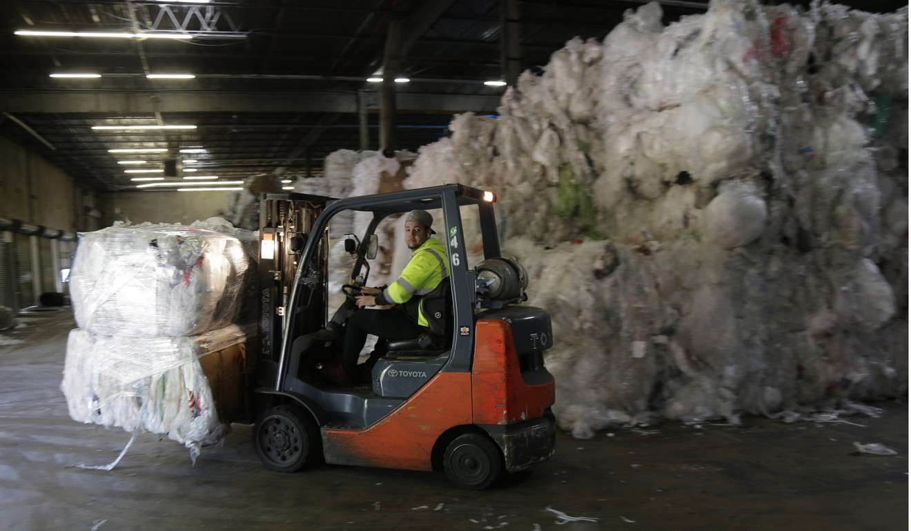 About US$1 billion in investment in US paper processing plants has been announced in the past six months, according to a non-profit group that tracks the industry. Photo: AP