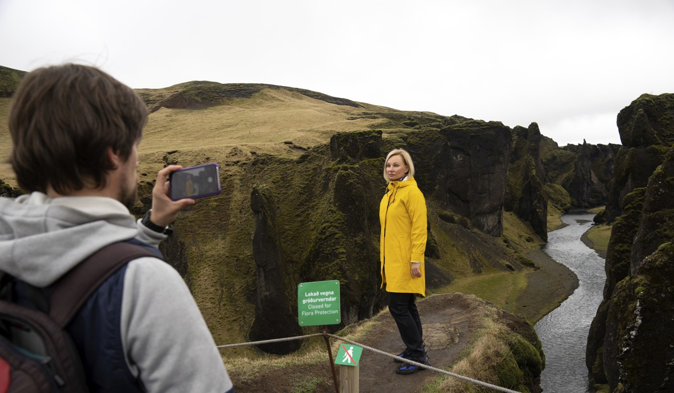 Blame it on Bieber: fans flock to Icelandic canyon featured in star's music video