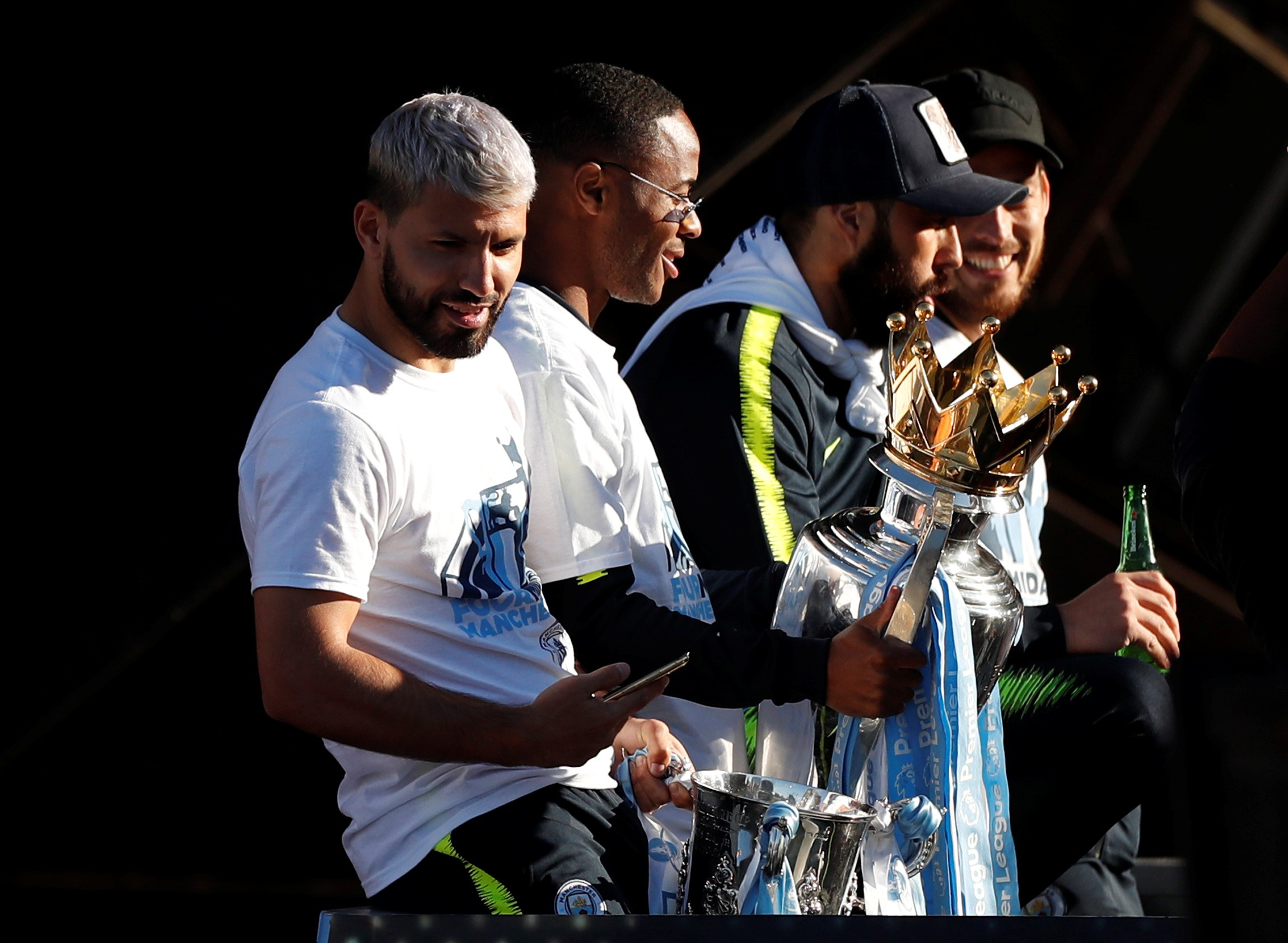 3253b326 Manchester City's Premier League trophy banter is another example of  commercialism ruining football