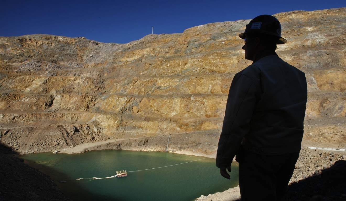 The Mountain Pass Mine in San Bernardino County, California was acquired by an American consortium backed by China's Shenghe Resources Holding. Photo: MCT