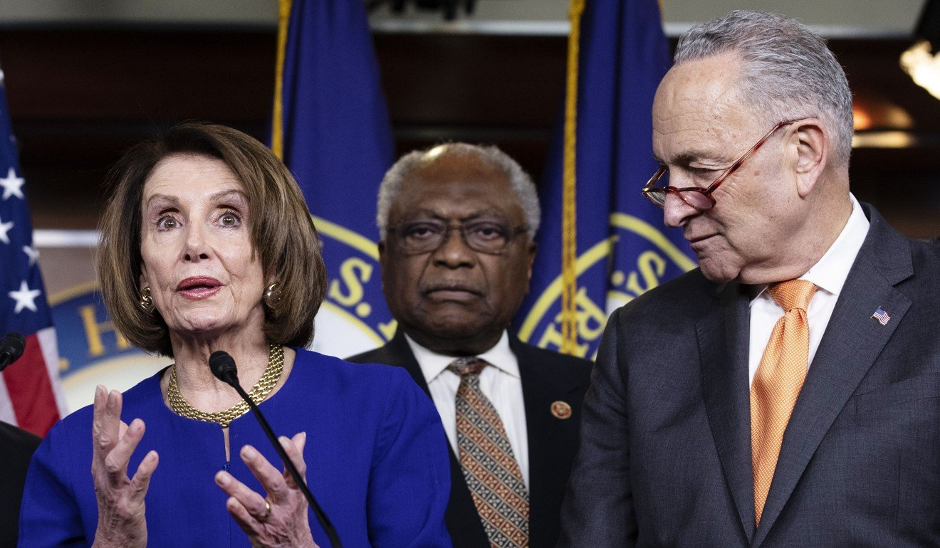 Donald Trump storms out of meeting with Democrats, refuses to work with them on US$2 trillion infrastructure plan unless they halt 'phoney investigations'