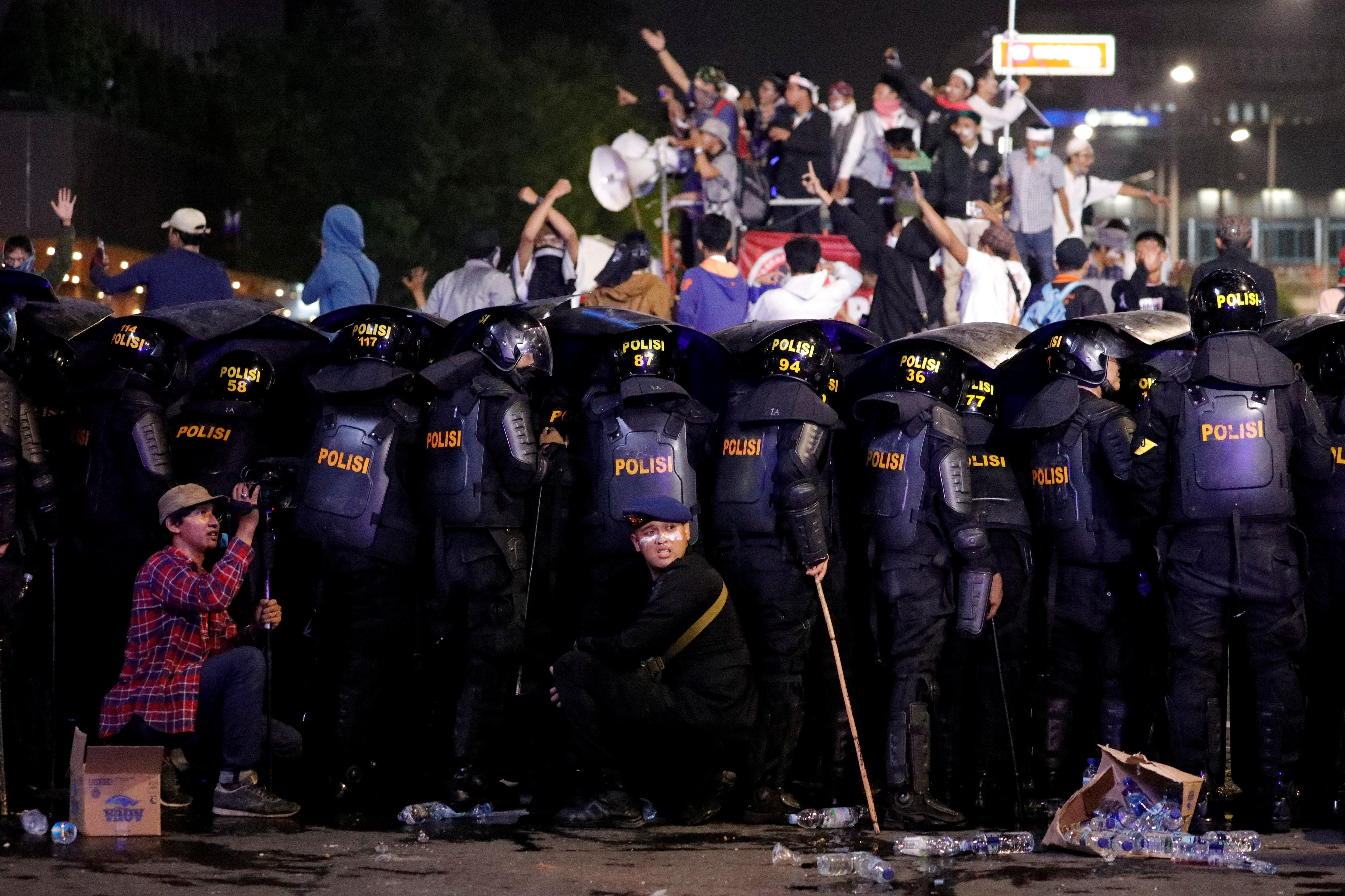 Indonesia riots: Prabowo Subianto tells supporters to go home after
