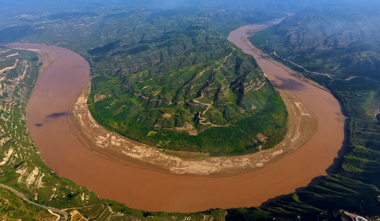 A DNA study suggests the Yellow River (above) may have to share its place as a cradle for Han Chinese with the Yangtze and the Pearl. Photo: Xinhua