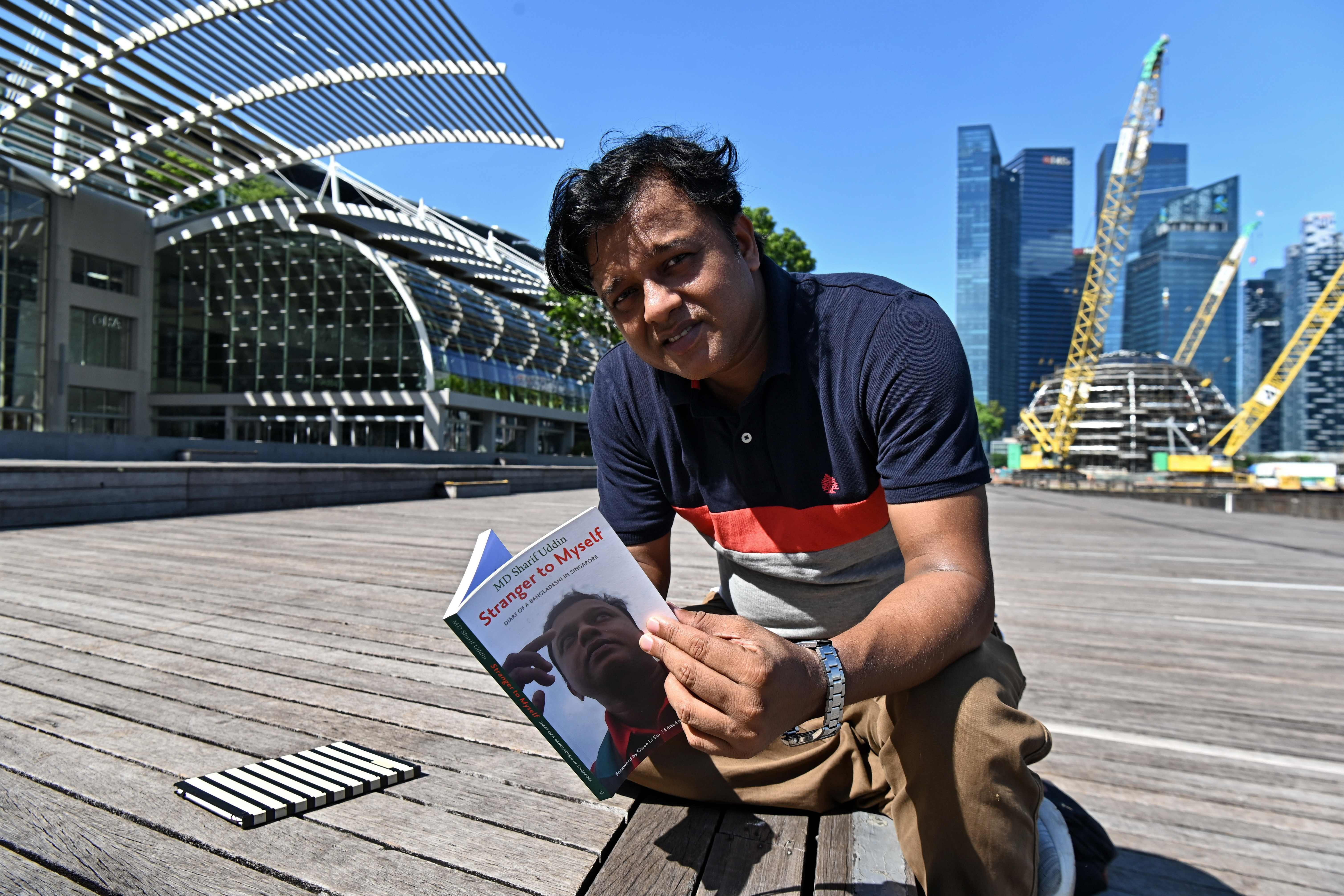 Bangladeshi man's diary shines rare light on daily struggles experienced by migrant workers in Singapore