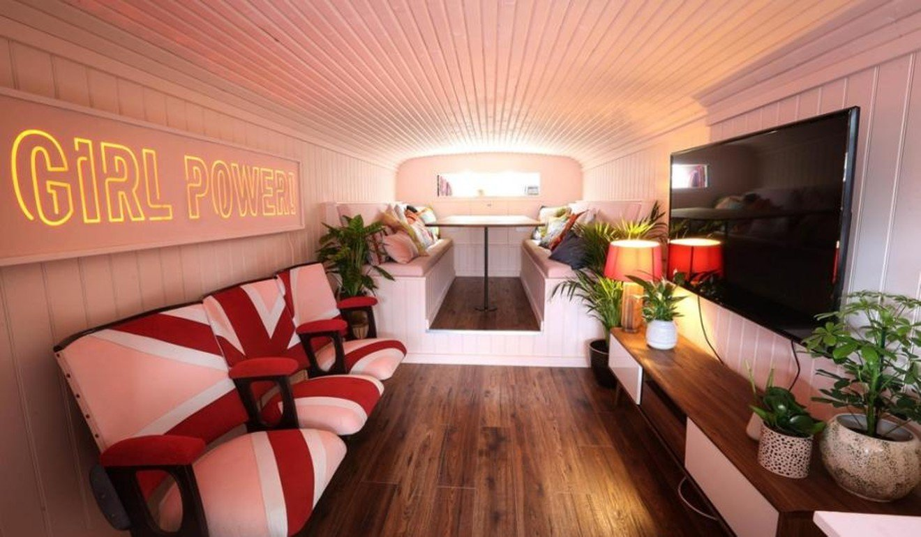 Spice up your life – with a night in Airbnb's Spice Girls double decker bus