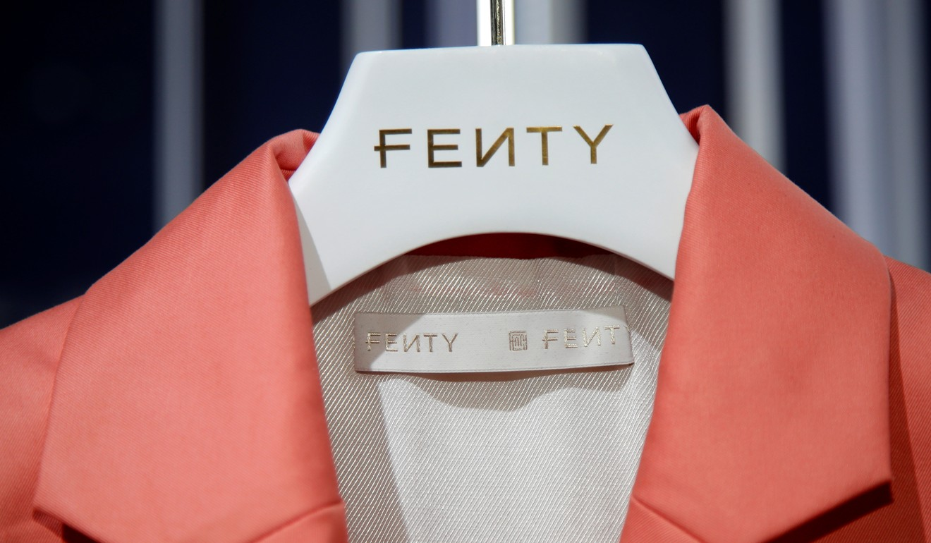 A creation from Rihanna's Fenty can be seen in a pop-up store in Paris. Picture: Reuters