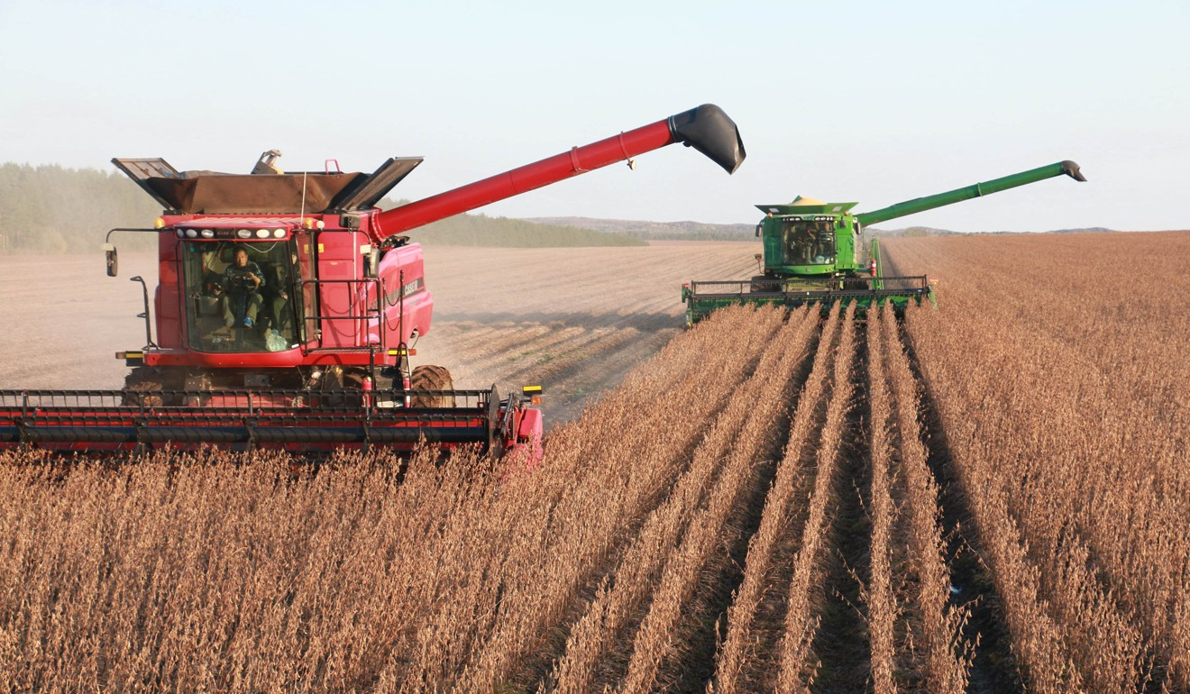 China has long been gradually liberalising its agricultural market and opening it up to imports. Photo: Xinhua