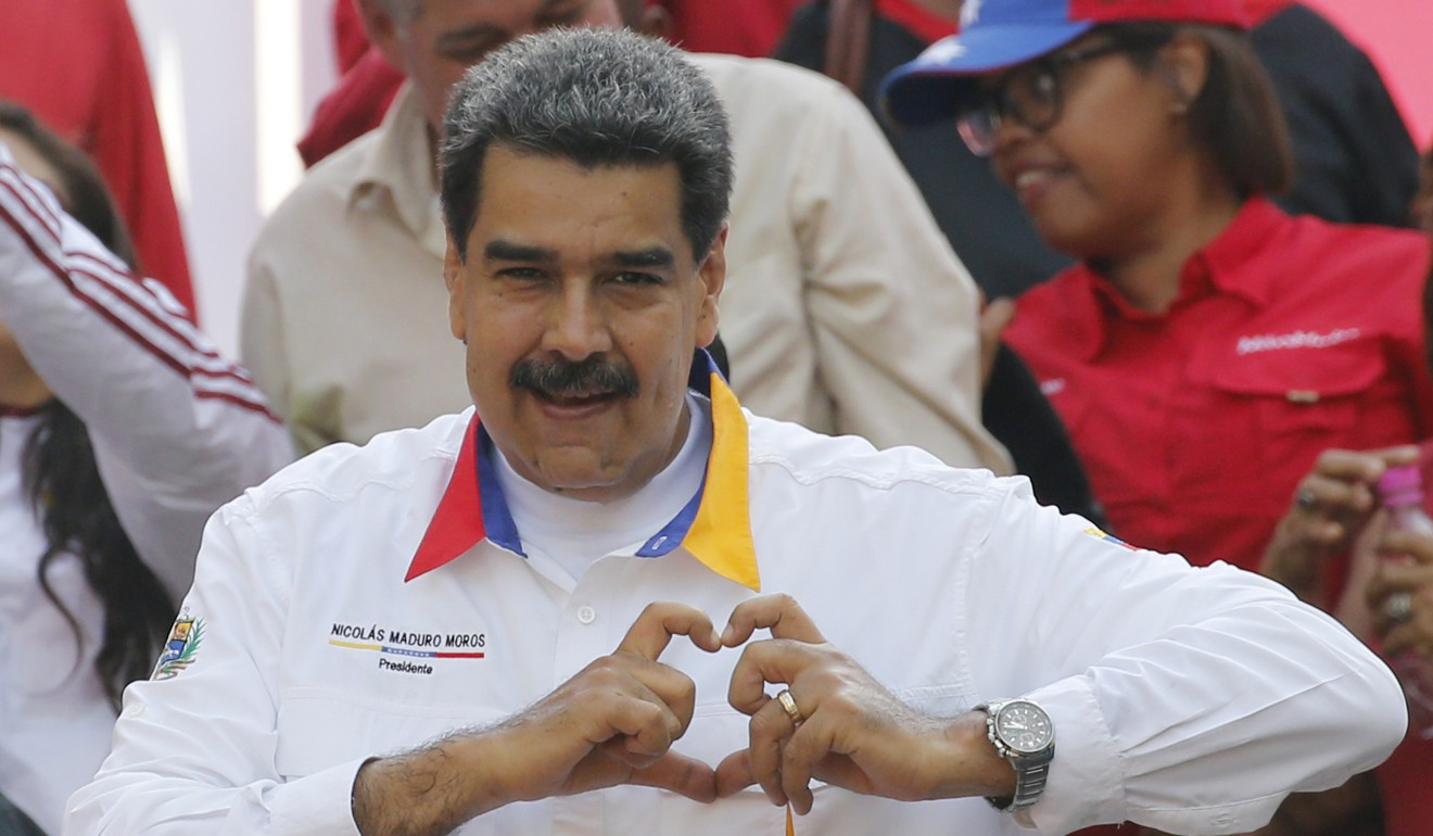 Venezuelan President Nicolas Maduro has the backing of China and Russia. Photo: AP