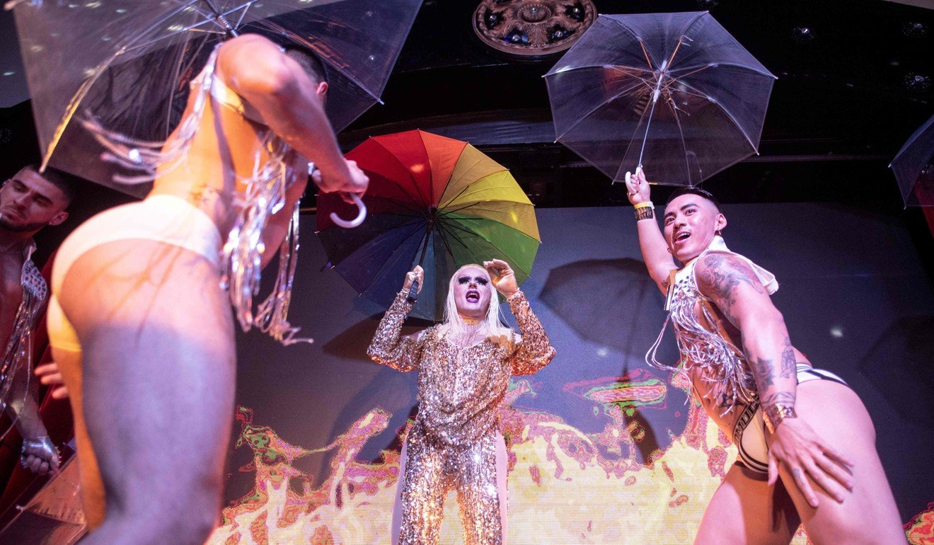 Dancers perform at the ShanghaiPRIDE opening party. Despite its reputation, Asia has a long history of accepting diversity. Photo: AFP