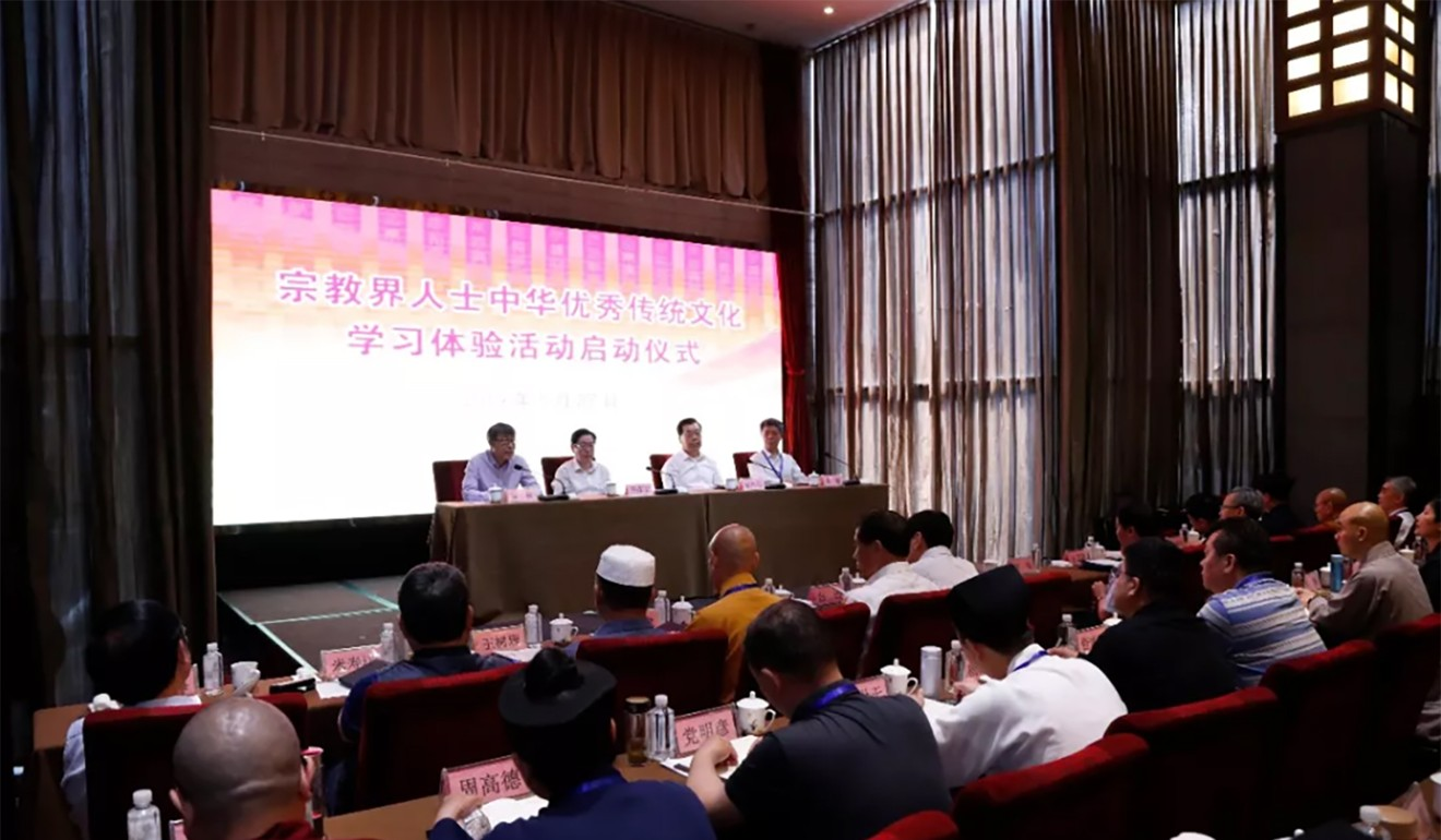 The five-day immersion courses are being held in the sage's hometown of Qufu. Photo: United Front Work Department