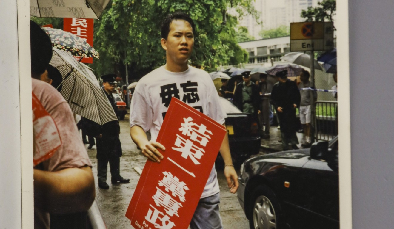 Hong Kong activist keeping promise he made 30 years ago to ensure