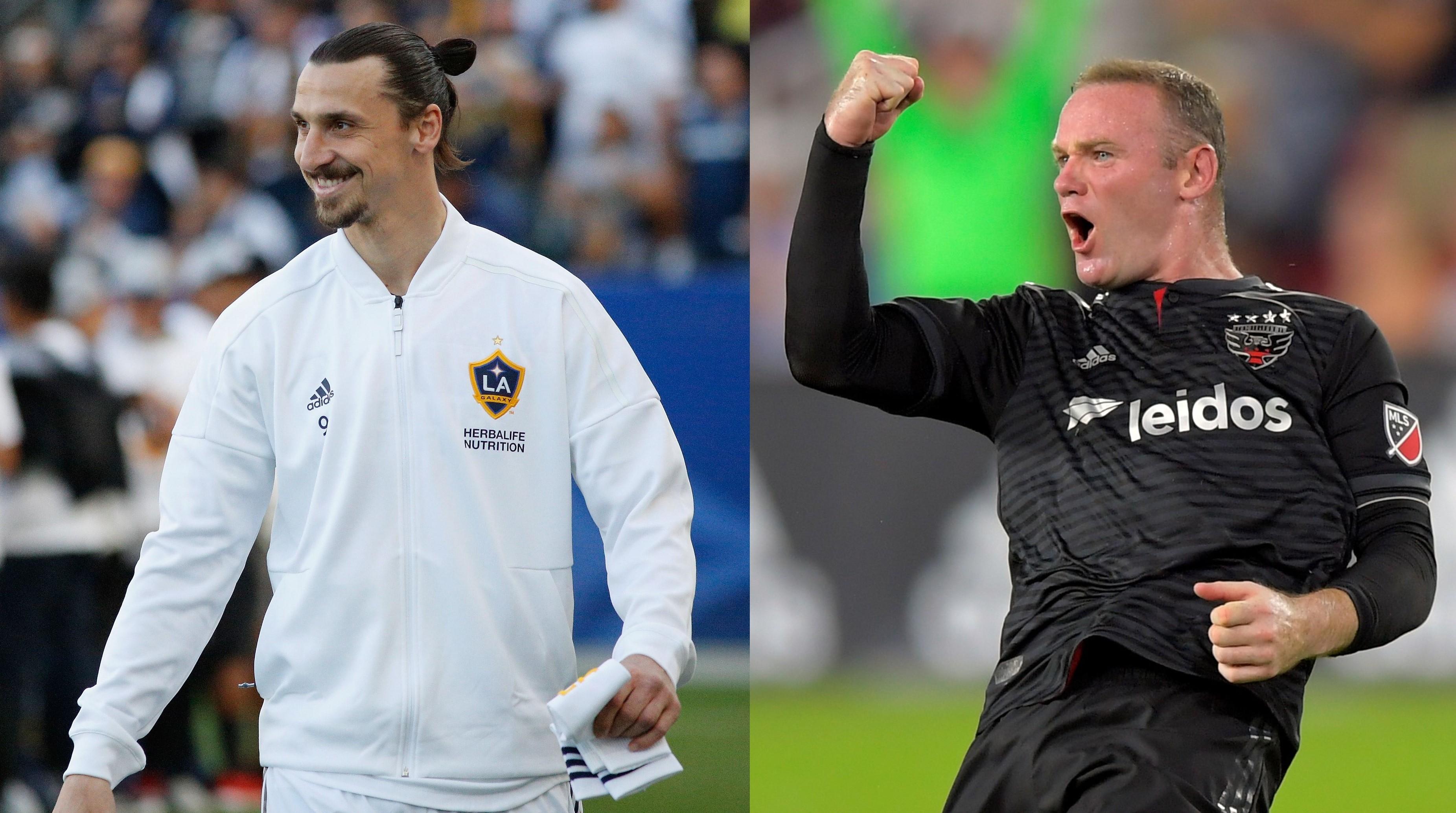 9fbe102d8 Zlatan Ibrahimovic and Wayne Rooney are dominating the MLS this season …  again