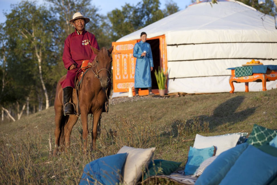 Ultimate camping holiday: US$1,600 a night to sleep in a tent, but oh, what a tent – a ger on the Mongolian steppe