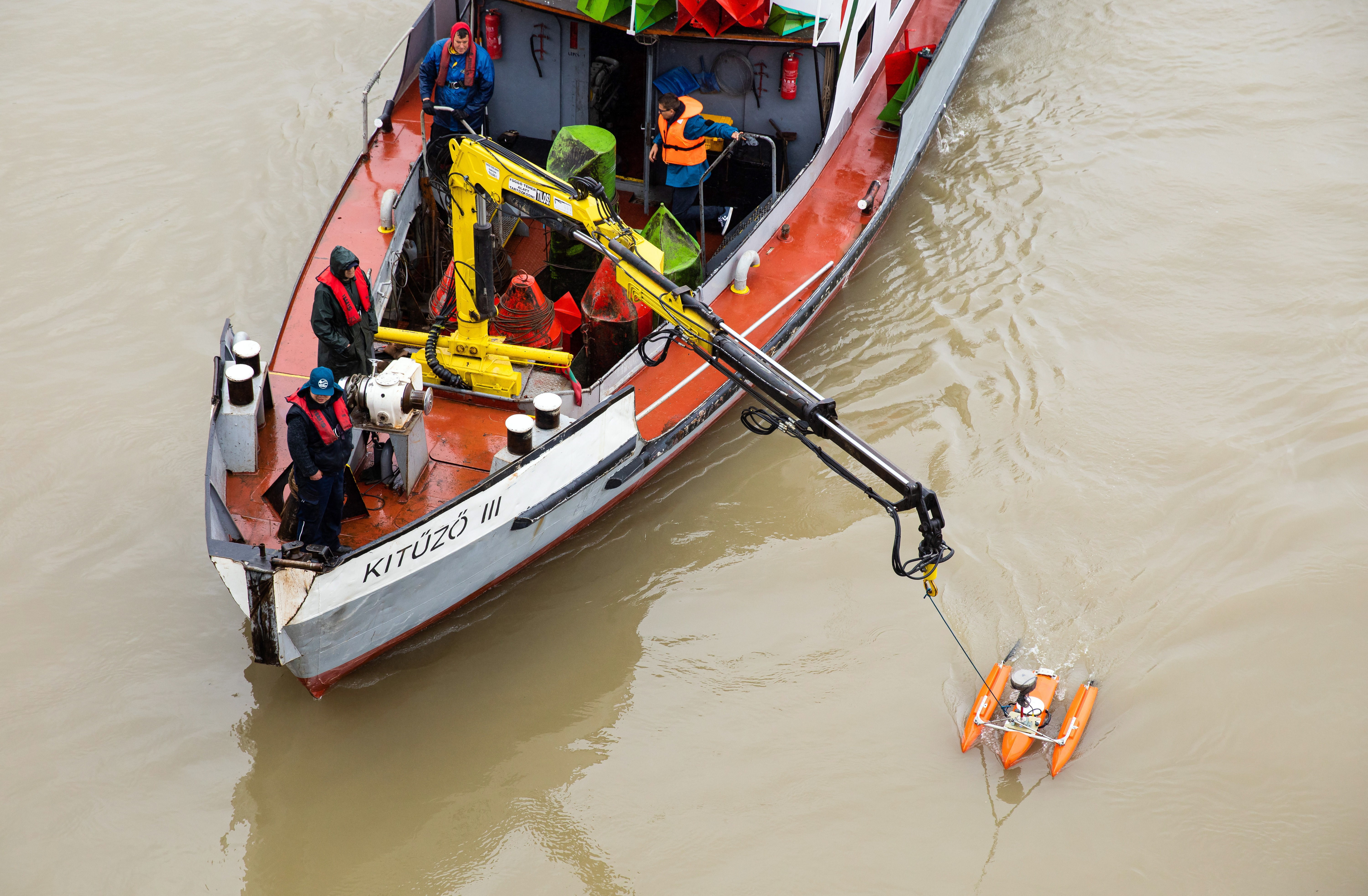 Captain C  Yuriy of 'floating hotel' in Hungarian boat collision