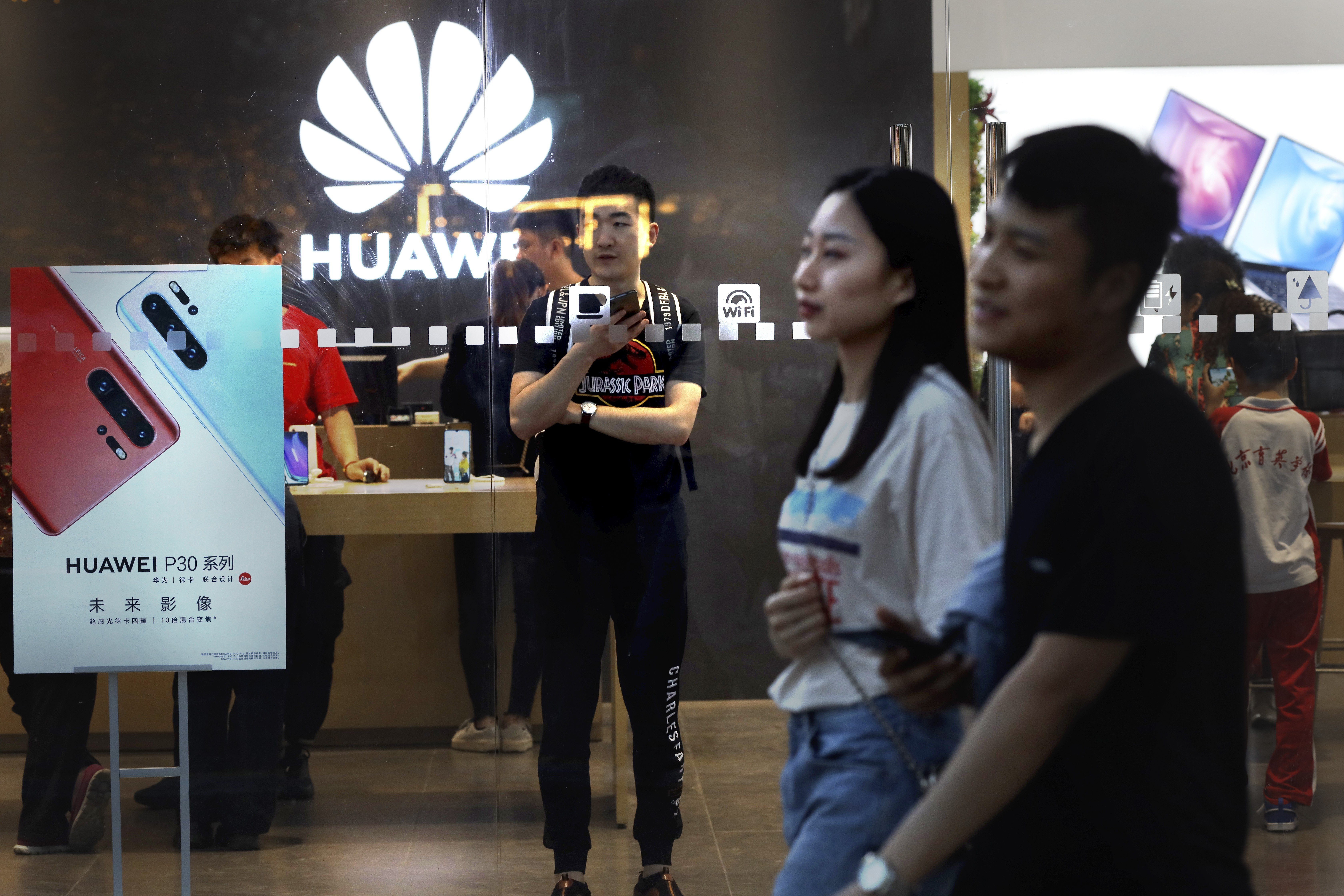 Huawei among more than 140 Chinese entities on US trade blacklist