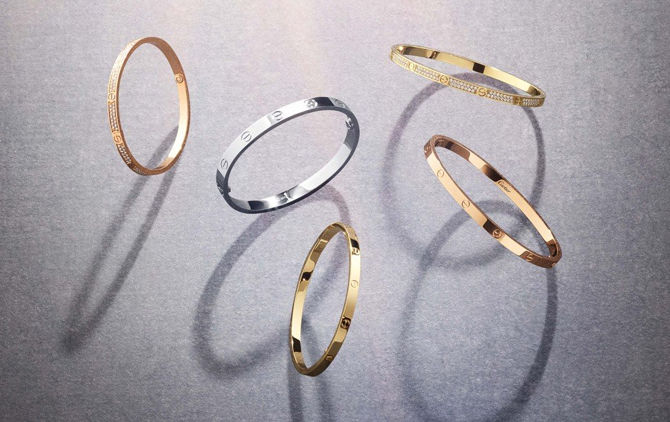 Cartier's Love collection.