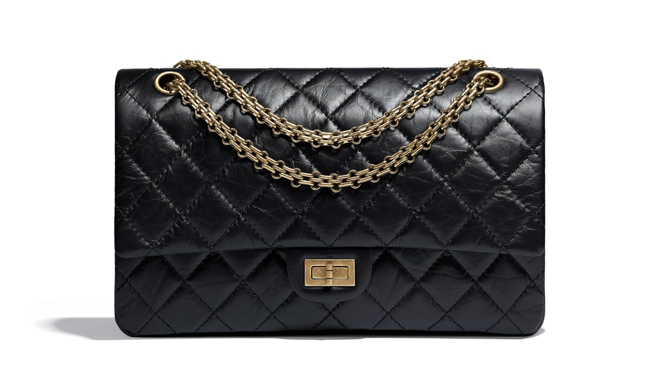 Chanel 2.55 flap bag.