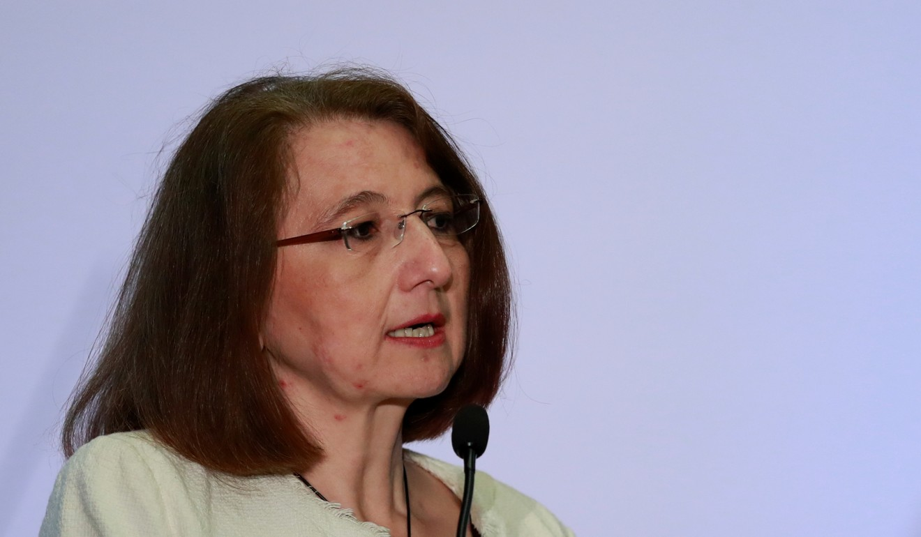 Mexico's deputy minister of foreign trade Luz Maria de la Mora. Photo: Reuters