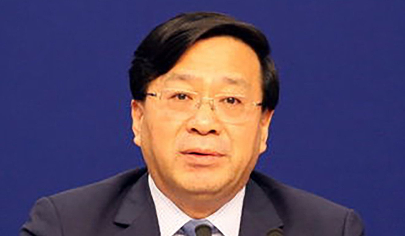 Han Jun, vice-minister of agriculture and rural affairs, said Chinese farmers would be able to withstand the impact of American tariffs. Photo: Baidu