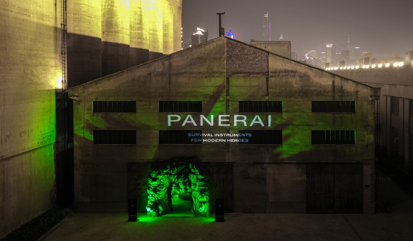 Watchmaker Panerai takes Luminor Submersible fans 'under water' in Shanghai