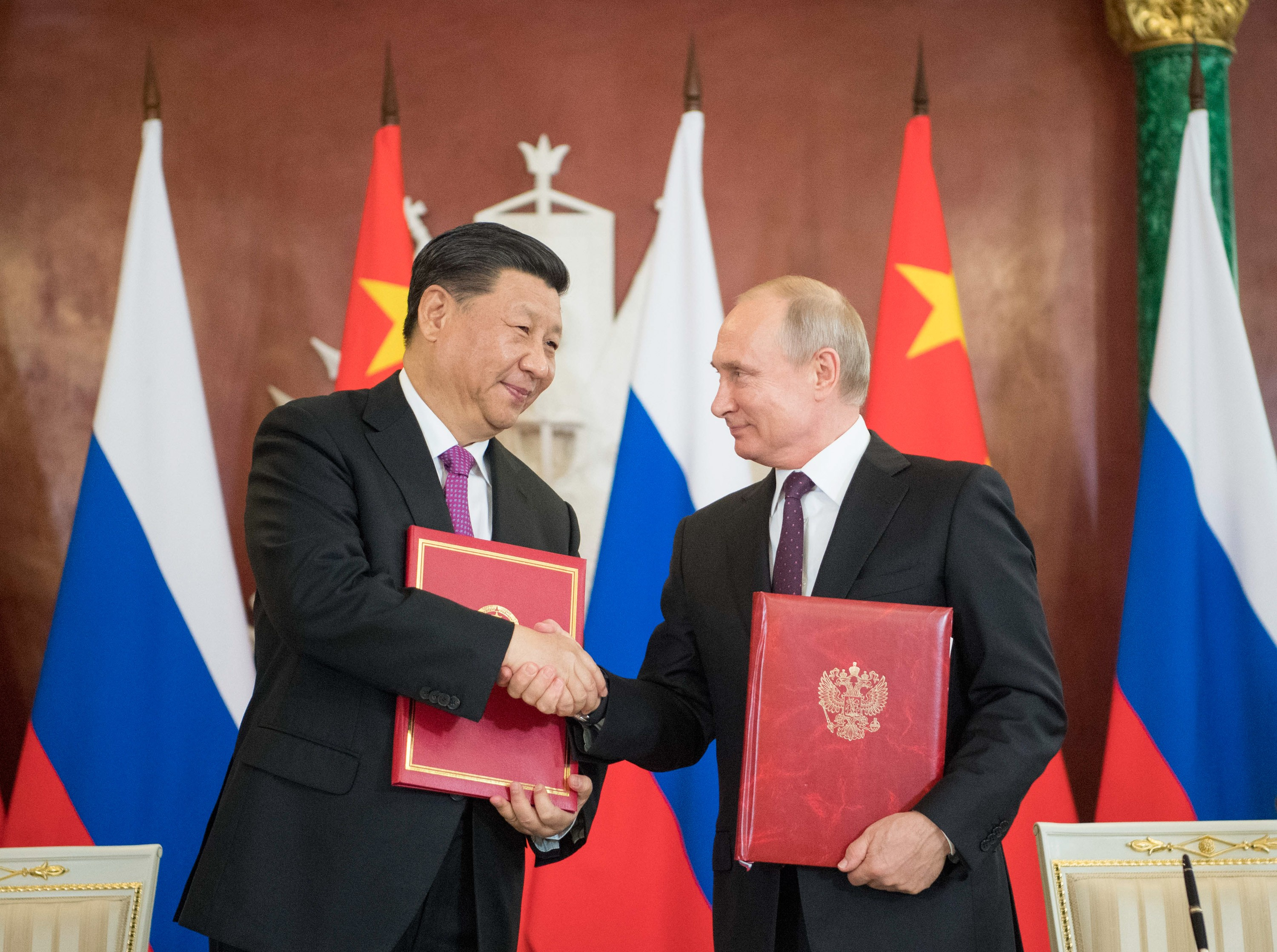 Russia And China Sign Deals Worth Us 20 Billion As Xi Jinping And Vladimir Putin S Growing Friendship Bears Fruit South China Morning Post