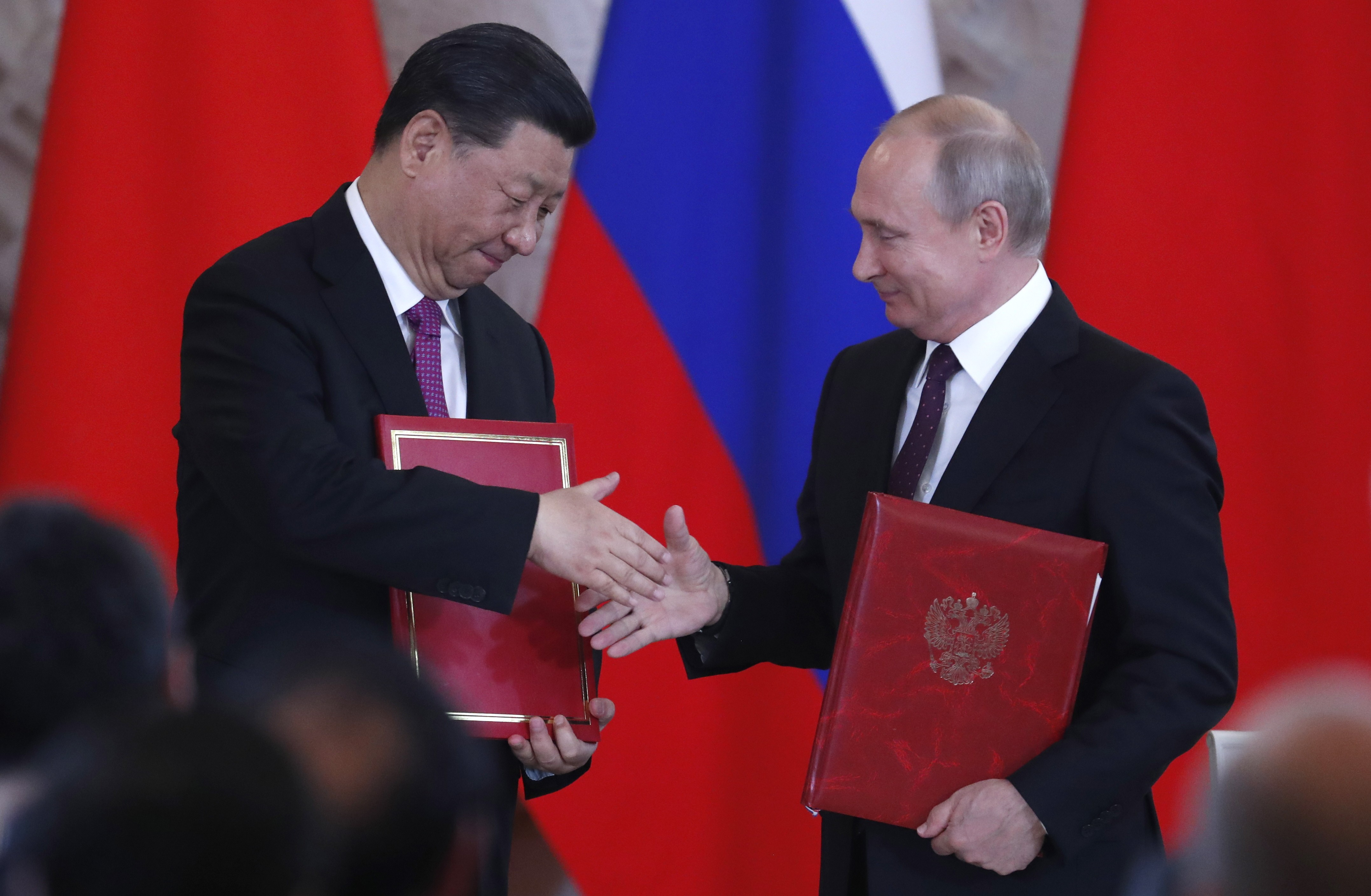 Russia S Vladimir Putin Points To Us 20 Billion Worth Of Deals As Evidence Of Close Ties With China South China Morning Post