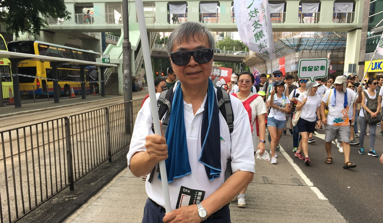 Pun Tin-chi said officials lied about the need for the extradition bill. Photo: Phila Siu