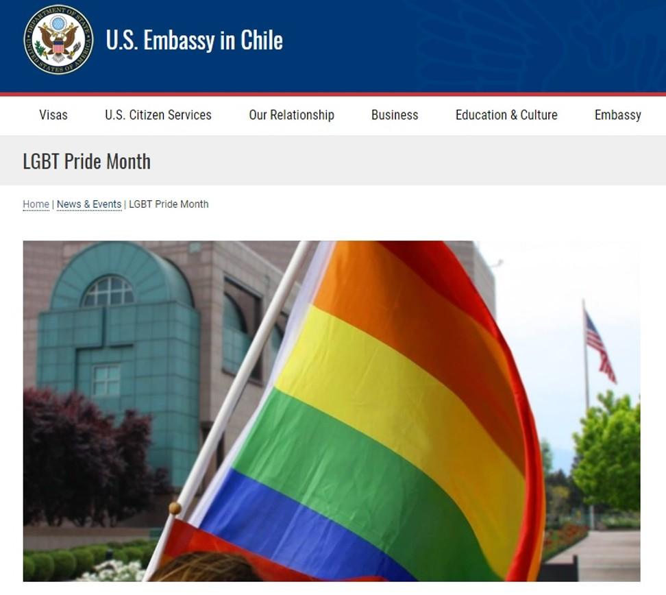Category one insurrection': US embassies hoist rainbow flags