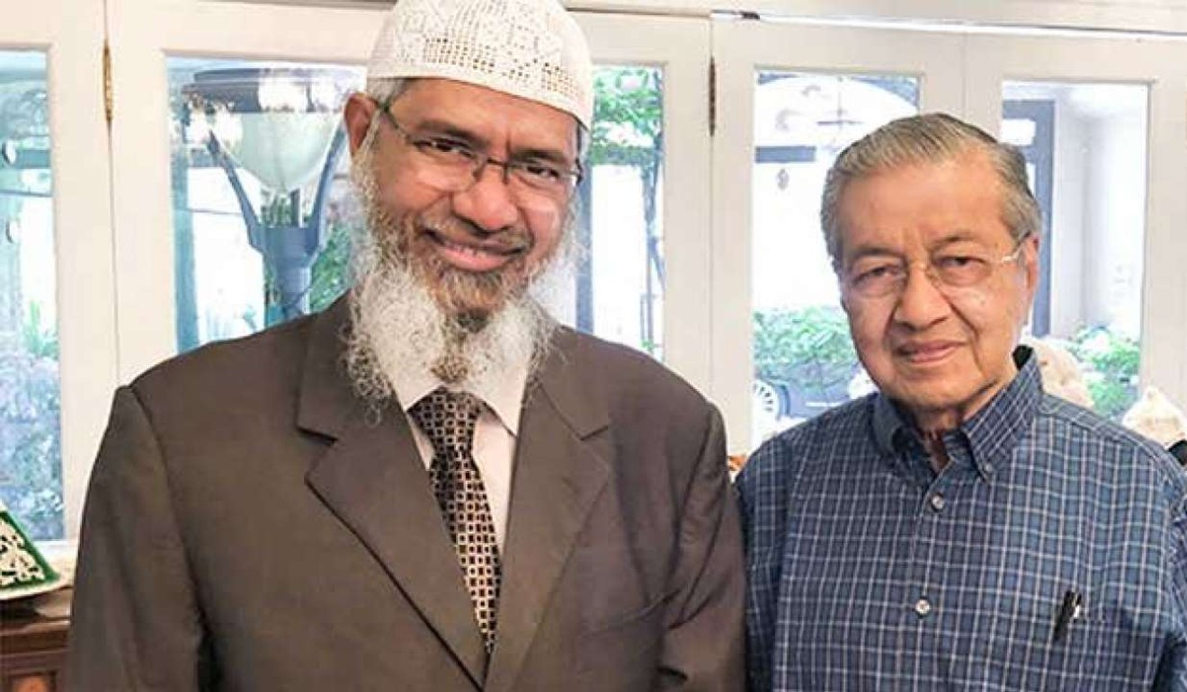 Never mind Interpol, Mahathir says Malaysia can decide whether to extradite Islamic preacher Zakir Naik to India
