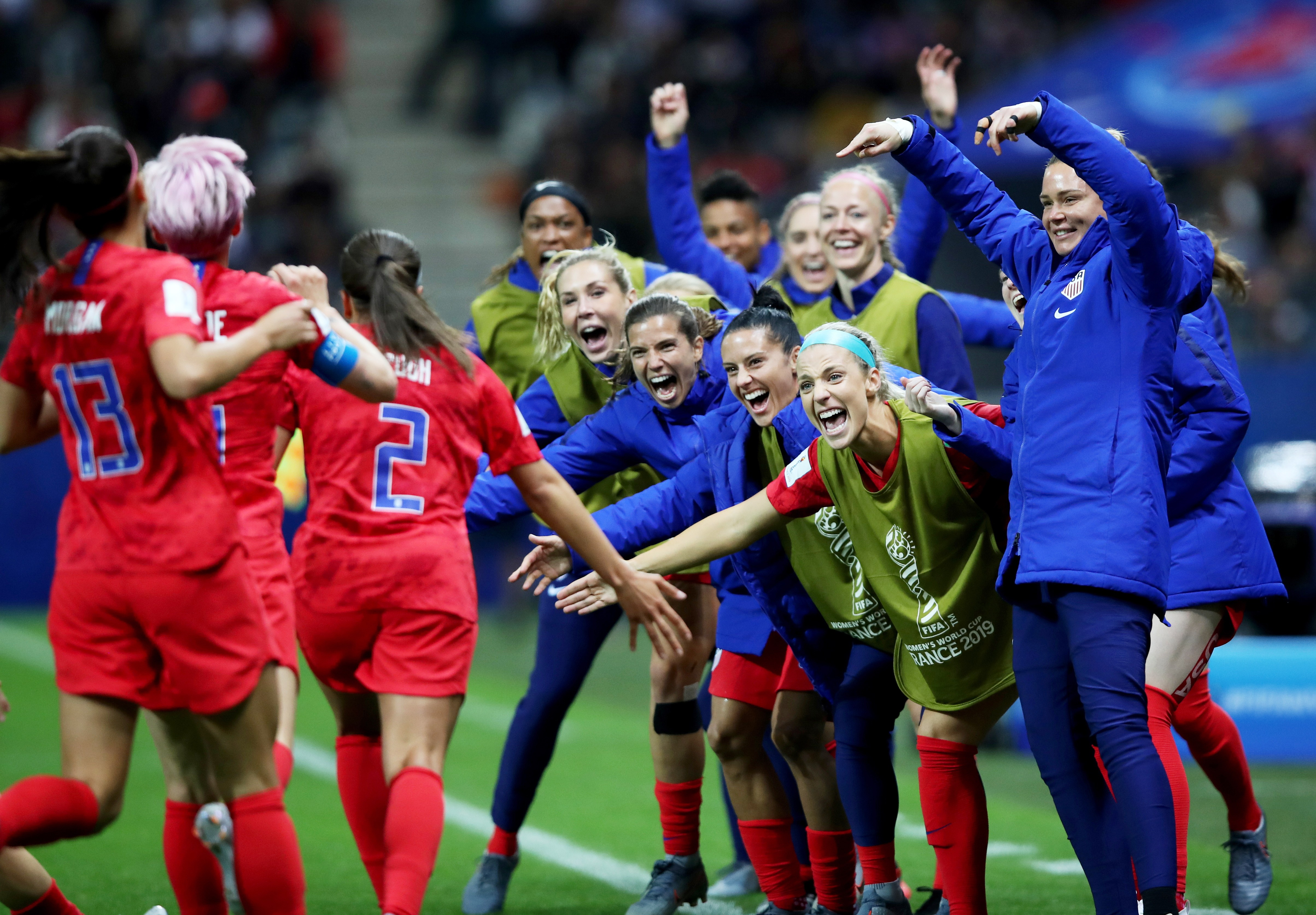1f1c1e694 Fifa Women's World Cup 2019: USWNT beat Thailand 13-0 to provoke criticism  for 'running up the score'