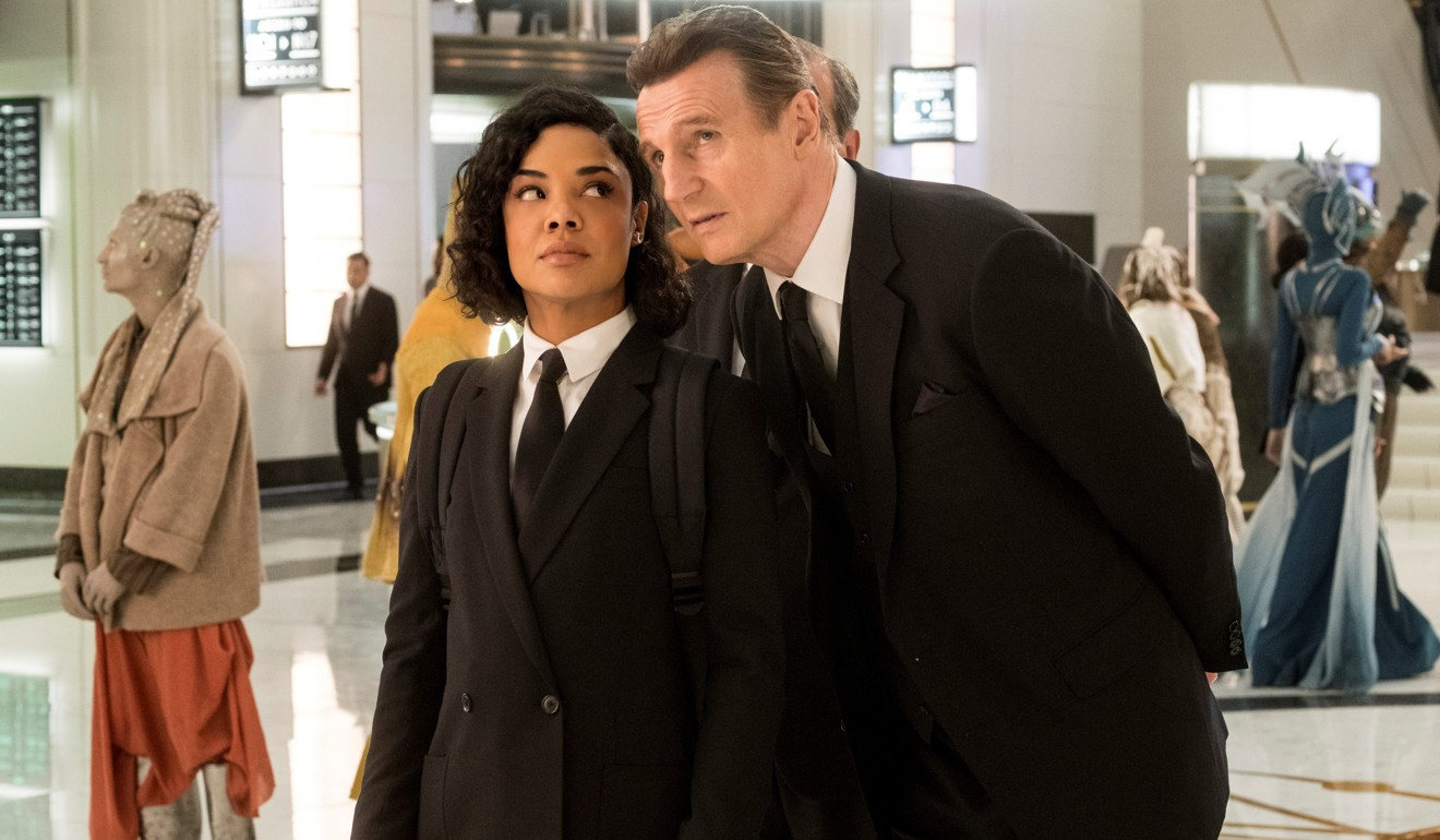 Men in Black: International film review – Chris Hemsworth, Tessa Thompson in forgettable sci-fi action comedy