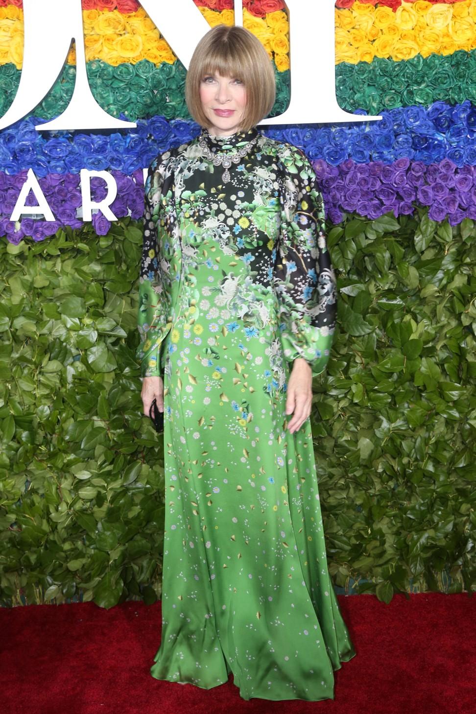 Has Anna Wintour made a fashion faux pas?