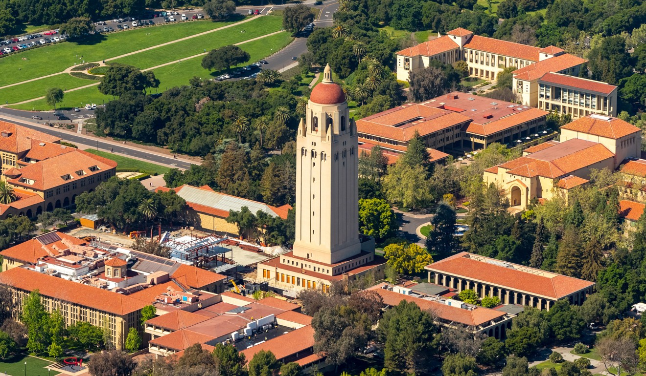 The US government seeded California's Silicon Valley with funding for military research at Stanford University in Palo Alto, California. Photo: Alamy