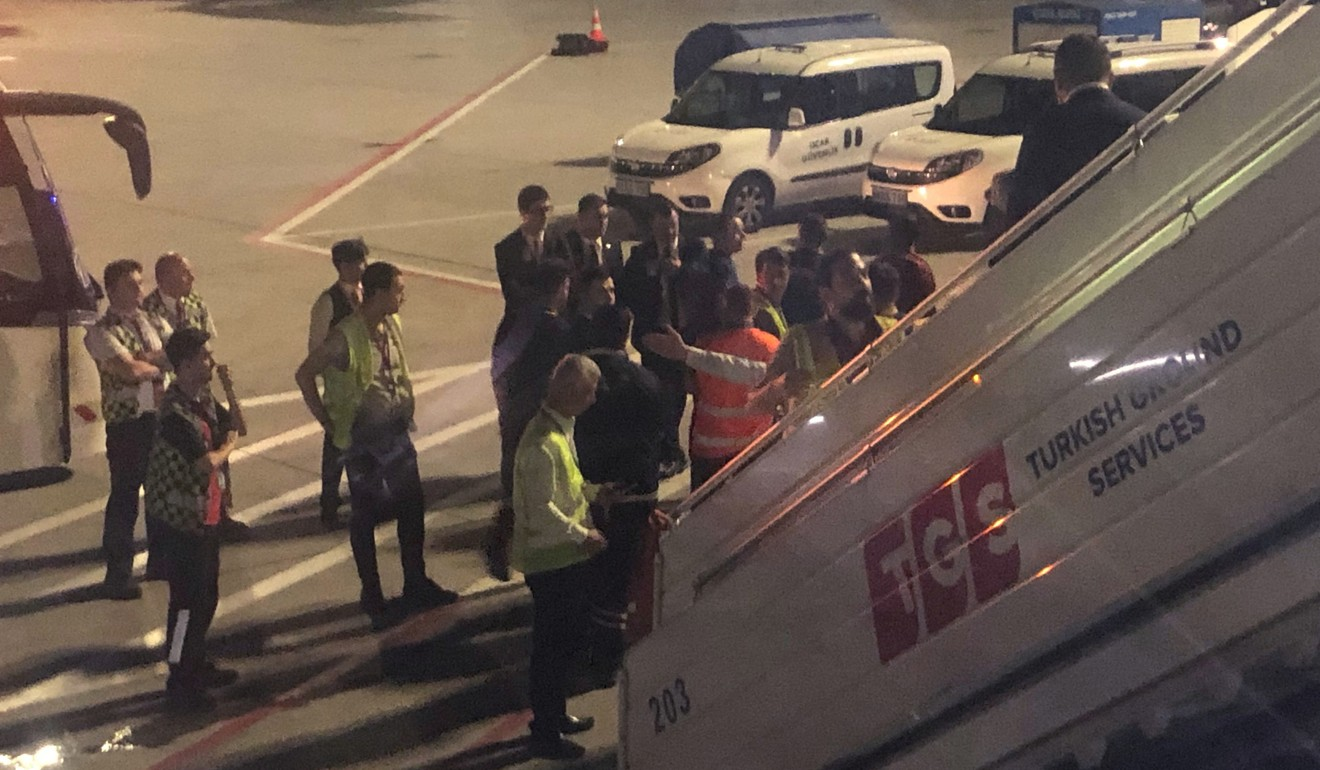 Passengers subdue man who screamed and tried to smash window on Turkish Airlines plane