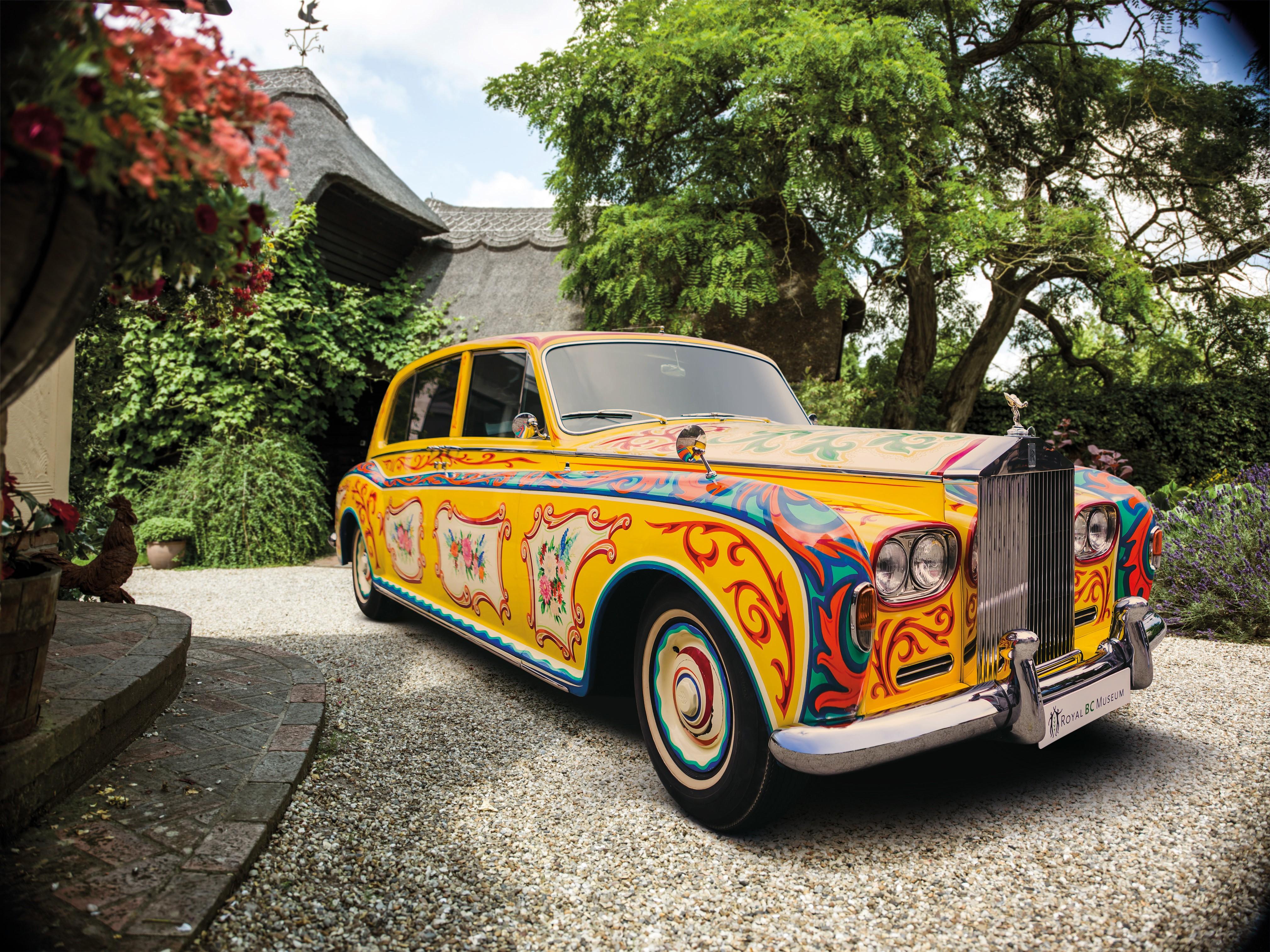 From John Lennon's Rolls-Royce Phantom V to BMW's Elements