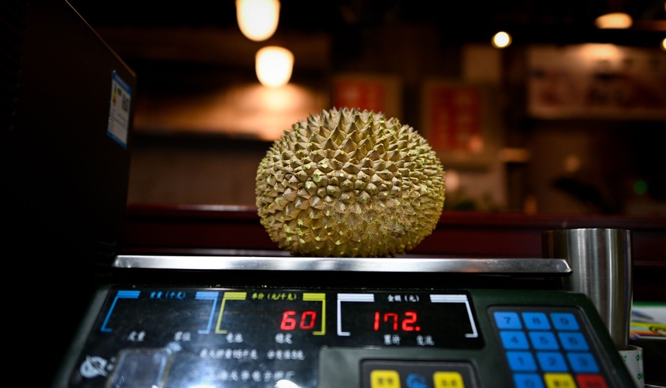 The durian's smell is very distinctive. Photo: Agence France-Presse