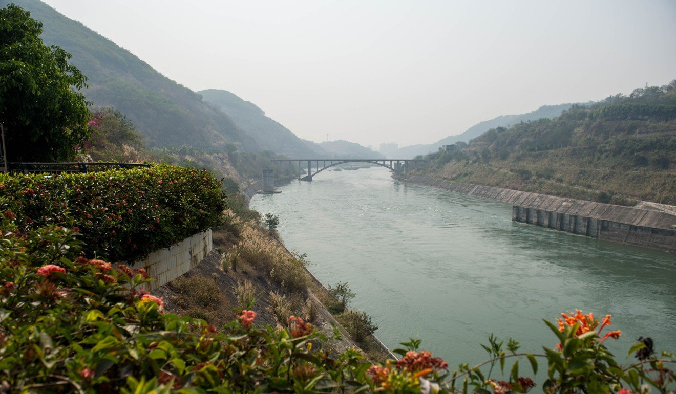 The lower reaches of Jinghong Hydropower Station in Xishuangbanna of southwest China's Yunnan province. Photo: Xinhua