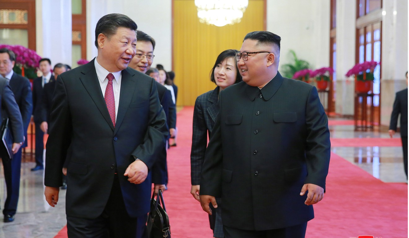 "Xi Jinping (left) says China will ""contribute to peace, stability, development and prosperity in the region"". Photo: EPA-EFE"