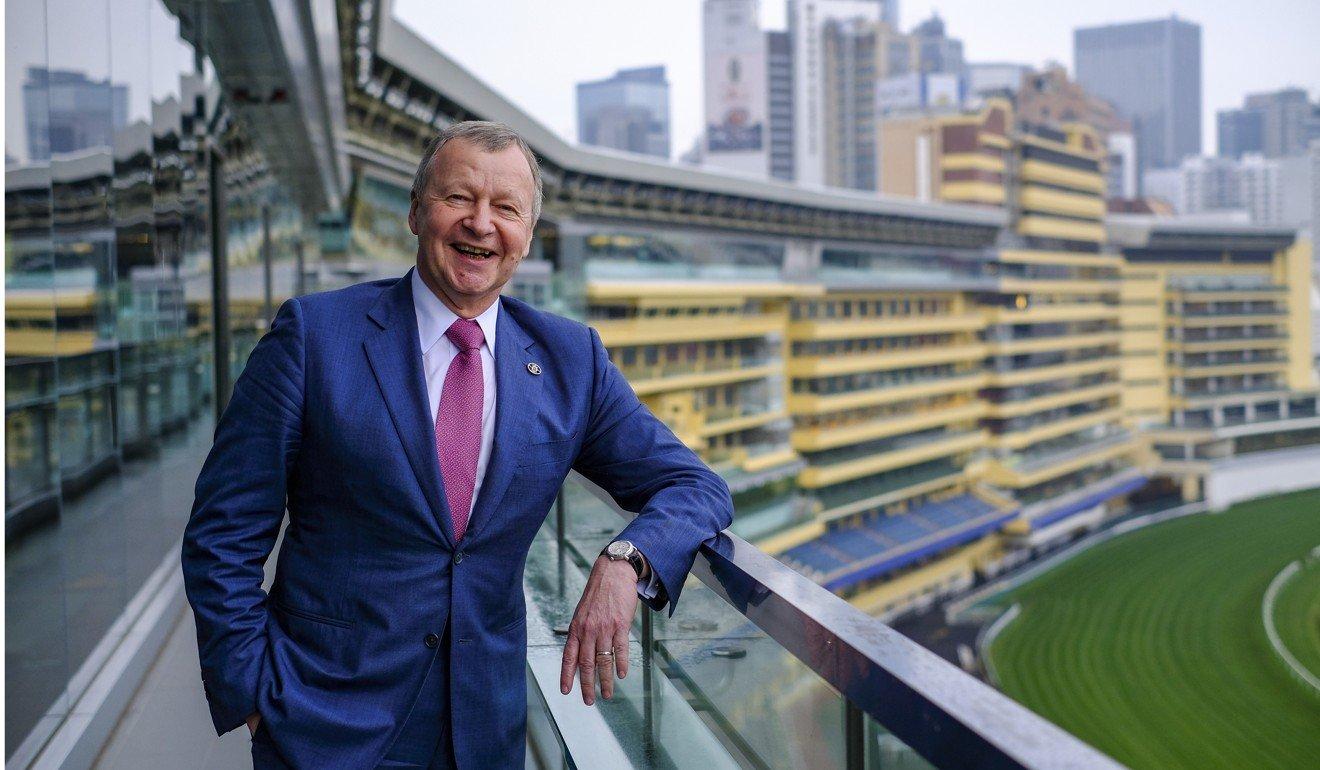 Jockey Club chief executive Winfried Engelbrecht-Bresges. Photo: Tory Ho