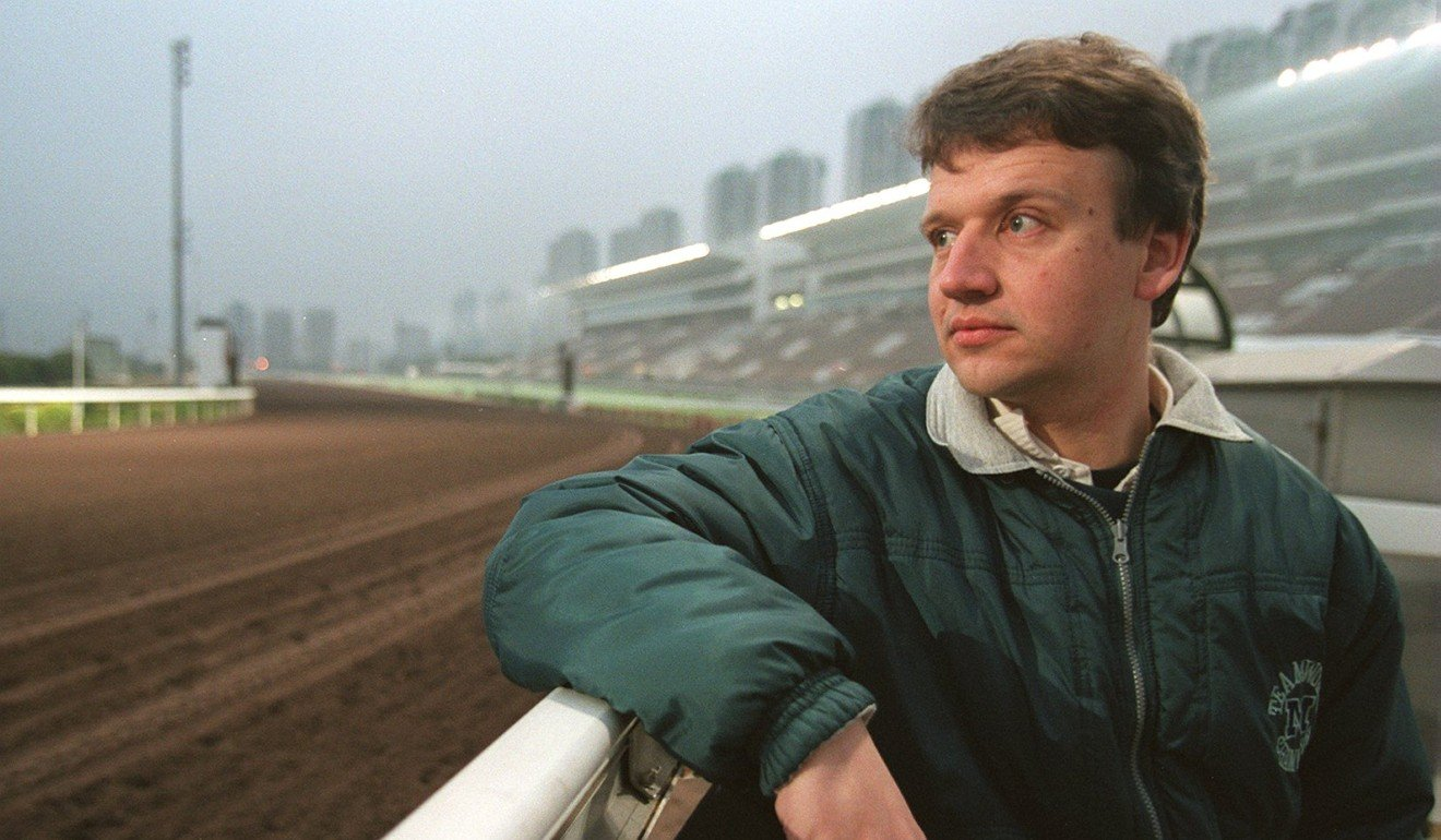 Racecaller Richard Hoiles at Sha Tin in 1999. Photo: SCMP