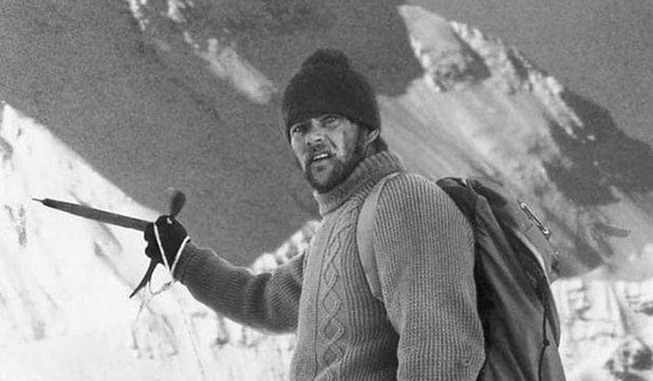 John 'Brummie' Stokes climbed Everest in 1976. He and his fellow SAS officer were trapped by bad weather on the way down, and had to be rescued. Photo: Handout
