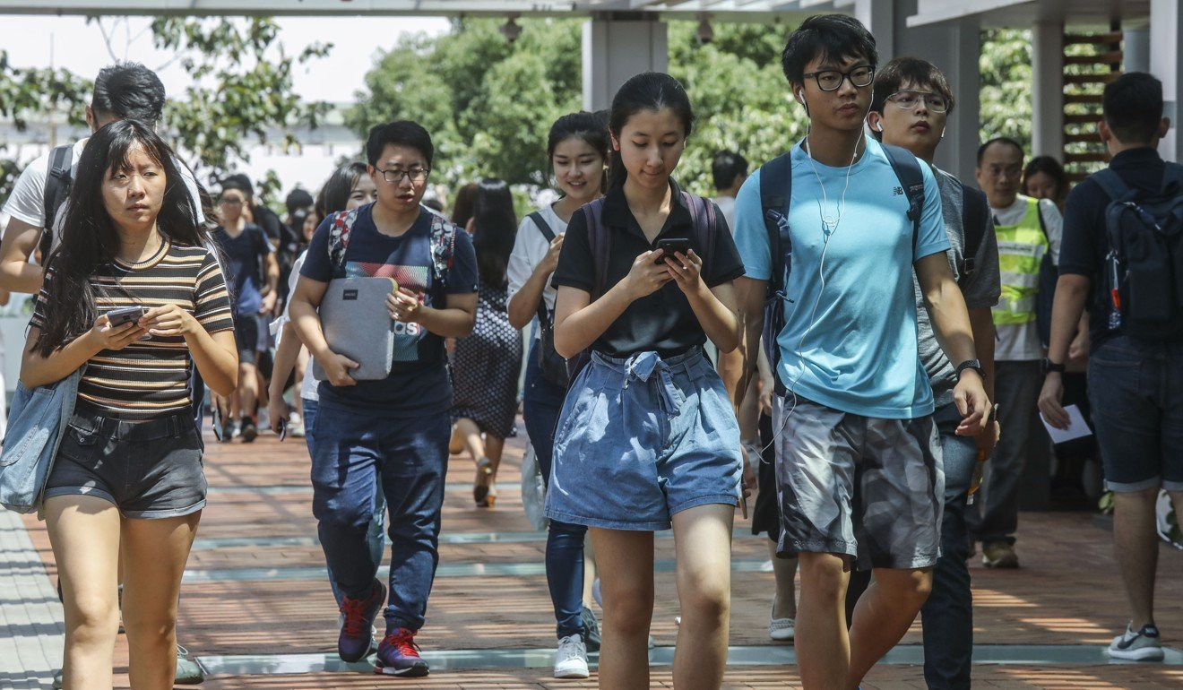 Chinese students educated in the US are now looking more at jobs in China. Photo: SCMP