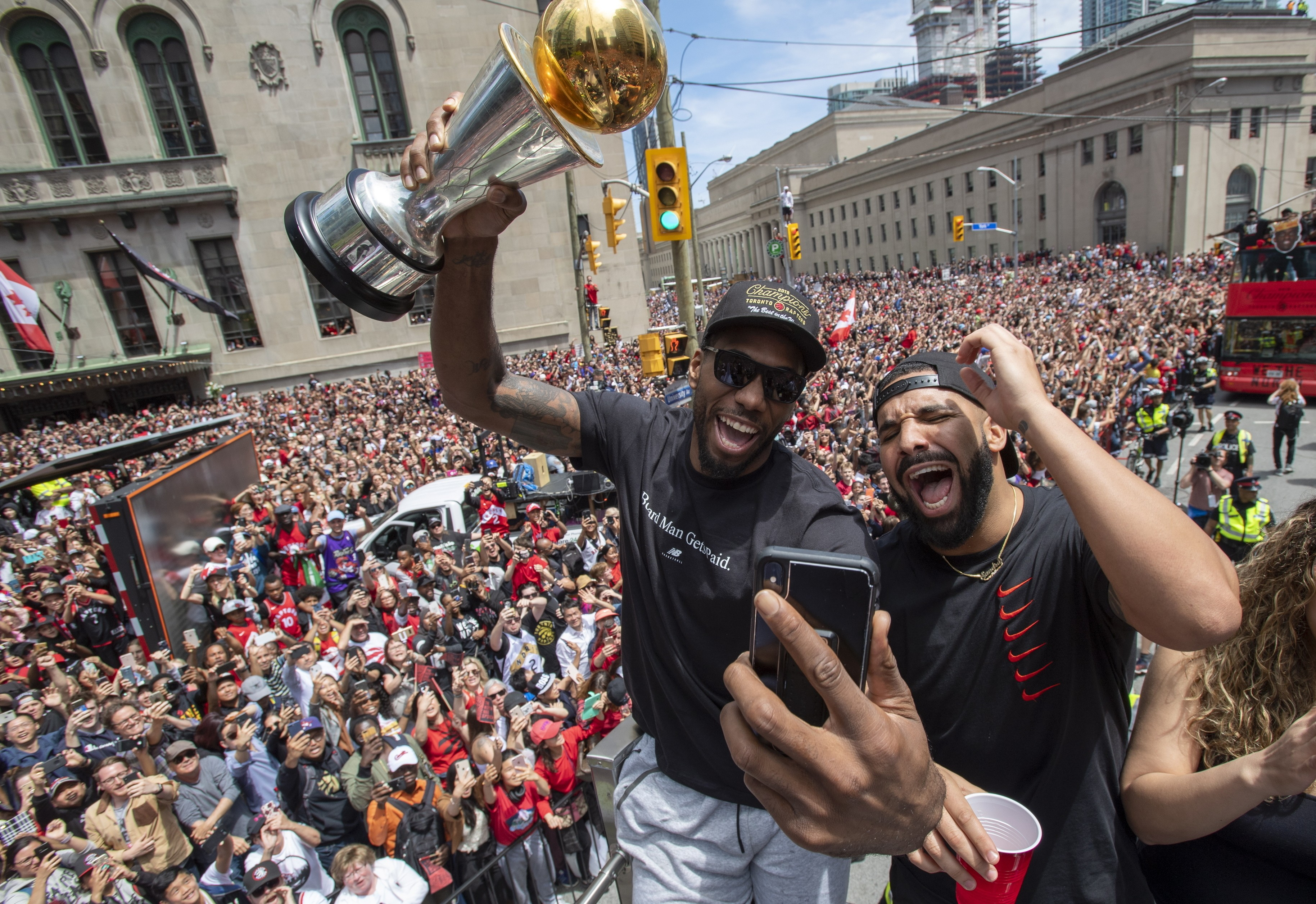 Could the Toronto Raptors snub US president Donald Trump and