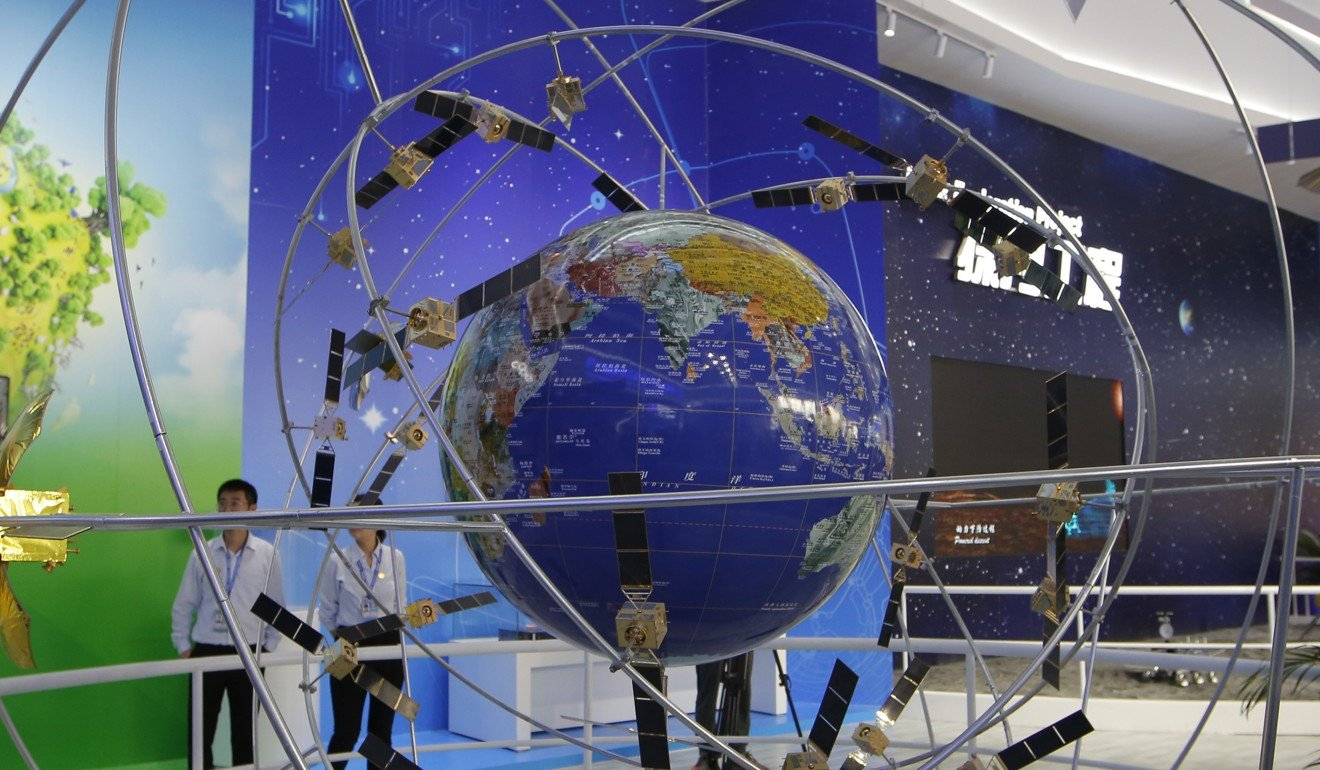The chips use the BeiDou Navigation Satellite System to relay real-time data to a control centre. Photo: AP