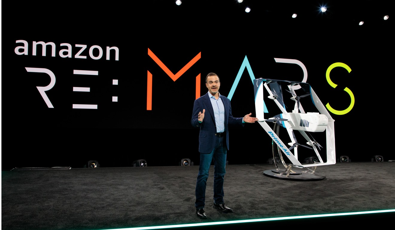 Amazon gets US patent to use delivery drones to spy on property