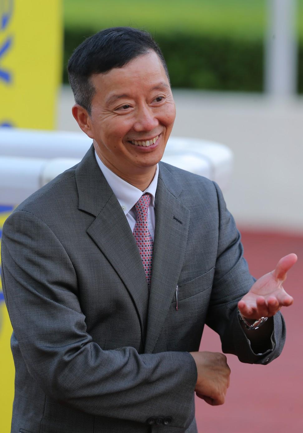 Trainer Benno Yung.