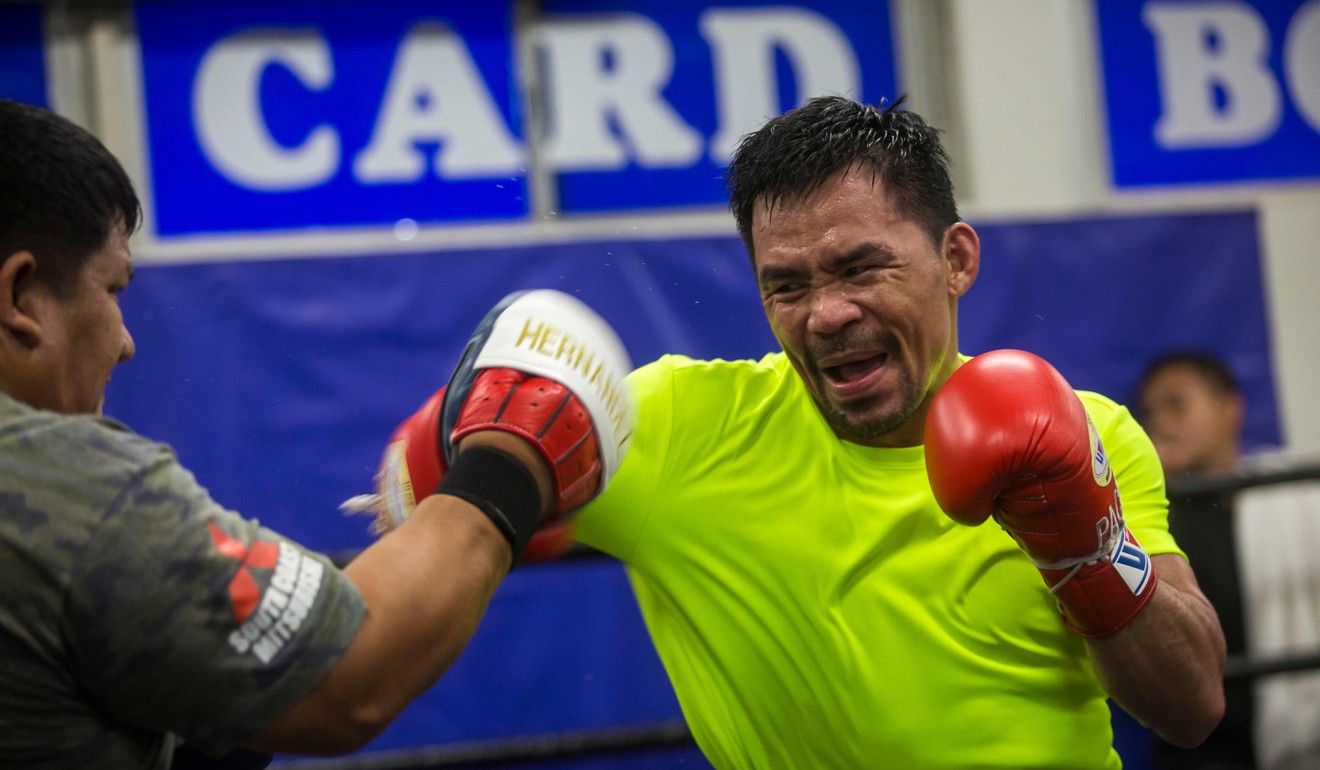 Manny Pacquiao will serve Keith Thurman on a platter like 'Lobster Thurmandor' says coach Roach